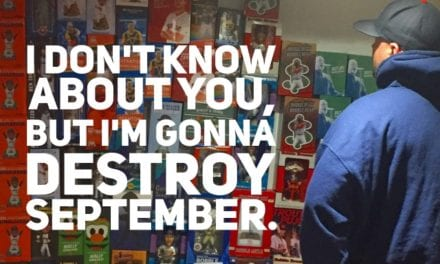 Time to destroy the month of September