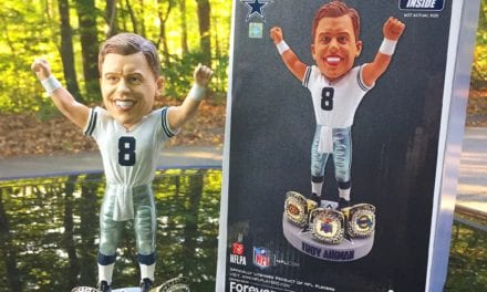 "Bobble of the Day ""Troy Aikman"" Exclusive Bobblehead"