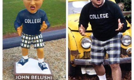 "Bobble of the Day ""John Belushi"" Bridgeport Bluefish Bobblehead"