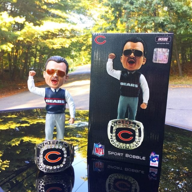 "Bobble of the Day ""Mike Ditka"" Exclusive Bobblehead"