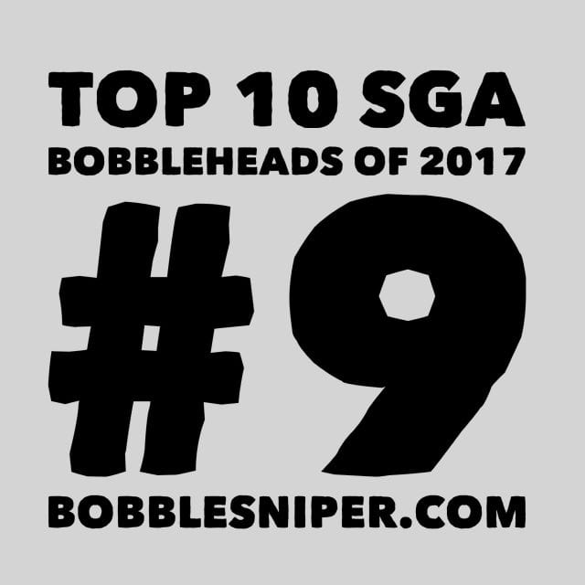 #9 of the top 10 SGA Bobbleheads of 2017