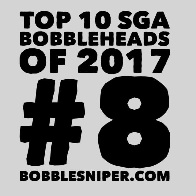 #8 of the top 10 SGA Bobbleheads of 2017
