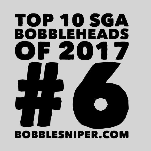 #6 of the top 10 SGA Bobbleheads of 2017