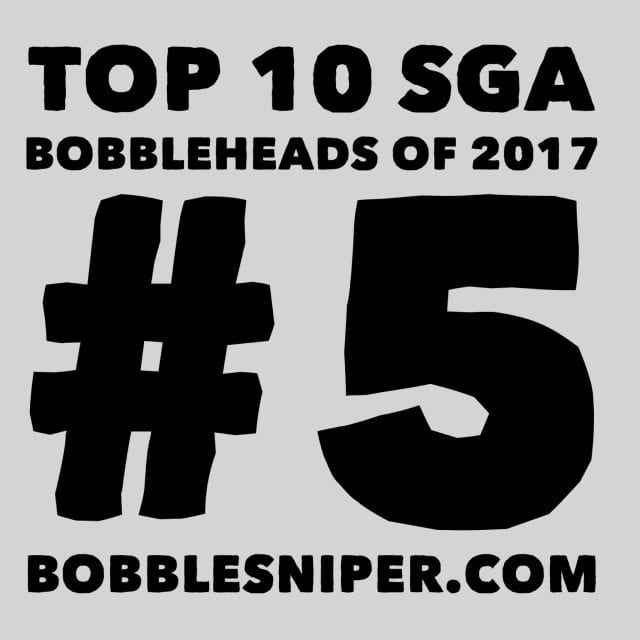 #5 of the top 10 SGA Bobbleheads of 2017