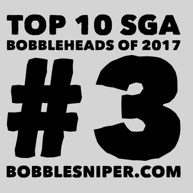 #3 of the top 10 SGA Bobbleheads of 2017