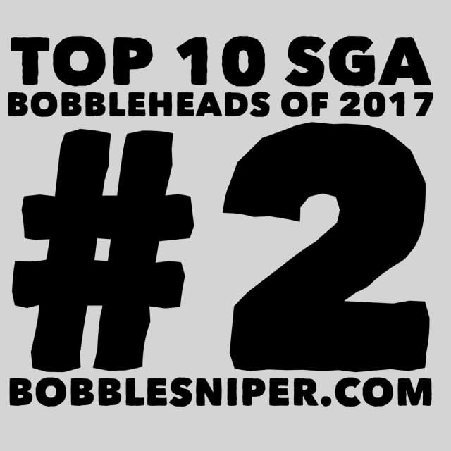 #2 of the top 10 SGA Bobbleheads of 2017