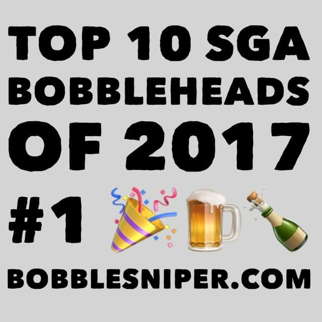 #1 of the top 10 SGA Bobbleheads of 2017