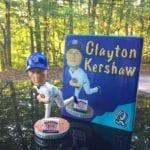 "Bobble of the Day ""Clayton Kershaw"" Rancho Quakes Bobblehead"