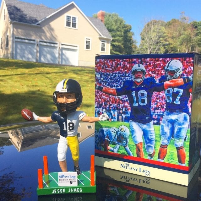 "Bobble of the Day ""Jesse James"" Penn State/Steelers SGA Bobblehead"
