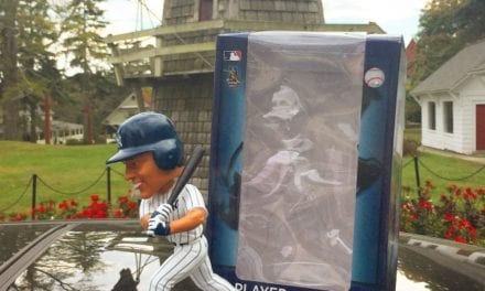 "Bobble of the Day ""Derek Jeter Day"" Exclusive Bobblehead"