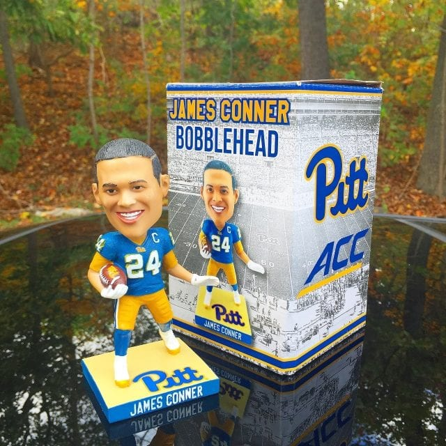 "Bobble of the Day ""James Connor"" Pittsburgh Panthers SGA"