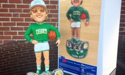 "Bobble of the Day ""Larry Bird"" 3X Champ Exclusive Bobblehead"