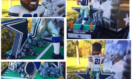 "Bobble of the Day ""Ezekiel Elliott"" Dallas Cowboys Exclusive Bobblehead"