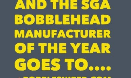 And the SGA manufacturer of the year goes to…