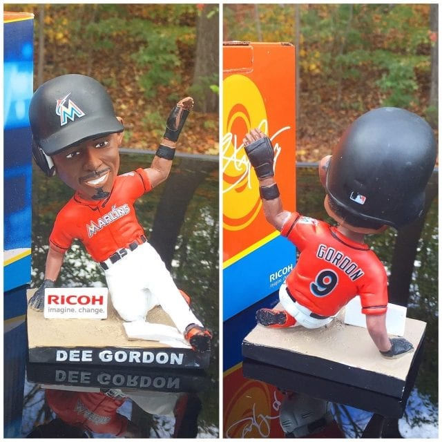 "Bobble of the Day ""Dee Gordon"" Miami Marlins SGA"