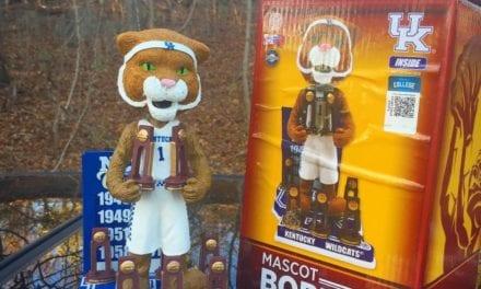"Bobble of the Day ""Kentucky Wildcats"" 8X NCAA Championship Bobblehead"