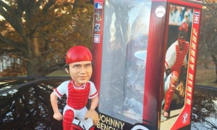 "Bobble of the Day ""Johnny Bench"" MLB Legends Bobblehead"