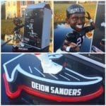 "Bobble of the Day Deion Sanders ""Prime Time"" Bobblehead"