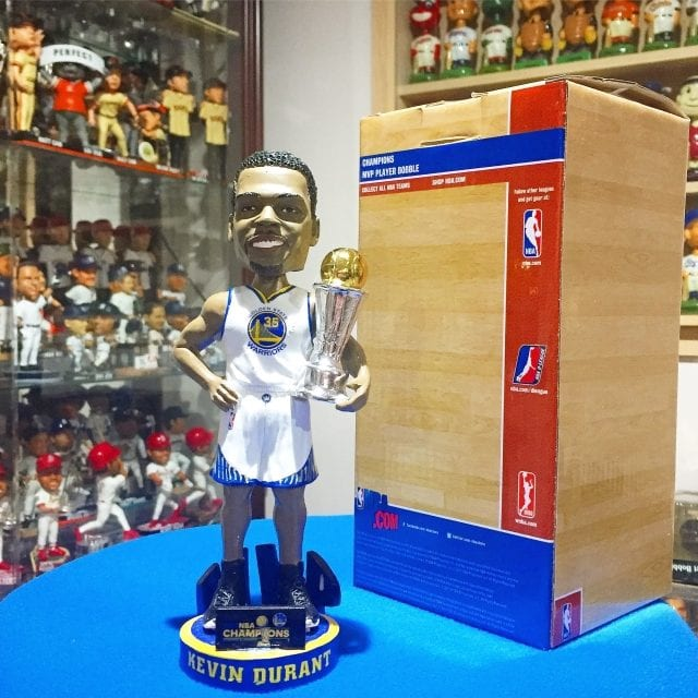 "Bobble of the Day ""Kevin Durant"" Finals MVP Warriors Bobblehead"