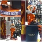 "Bobble of the Day ""Clemson Tiger"" Howard's Rock Bobblehead"