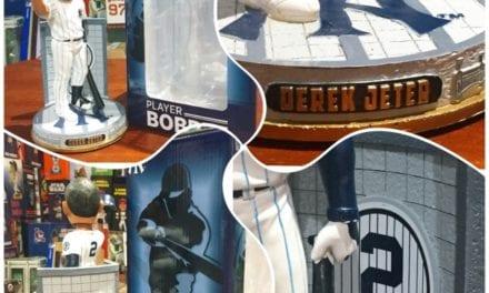 """Bobble of the Day """"Derek Jeter"""" Monument Park Bobblehead"""