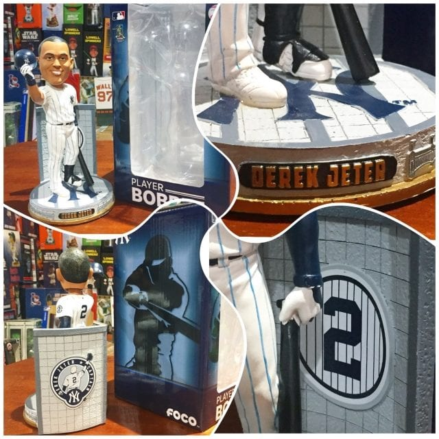 "Bobble of the Day ""Derek Jeter"" Monument Park Bobblehead"