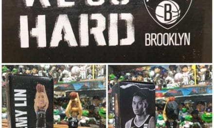 "Bobble of the Day ""Jeremy Lin"" Brooklyn Nets SGA Bobblehead"