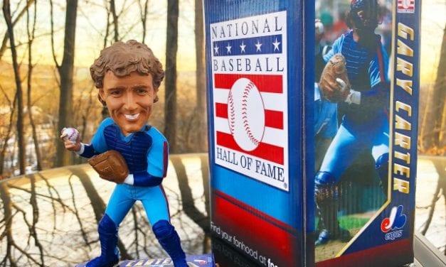 """Bobble of the Day """"Gary Carter"""" MLB Legends Bobblehead"""