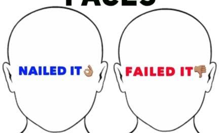 Bobble Faces Nailed it/Failed it