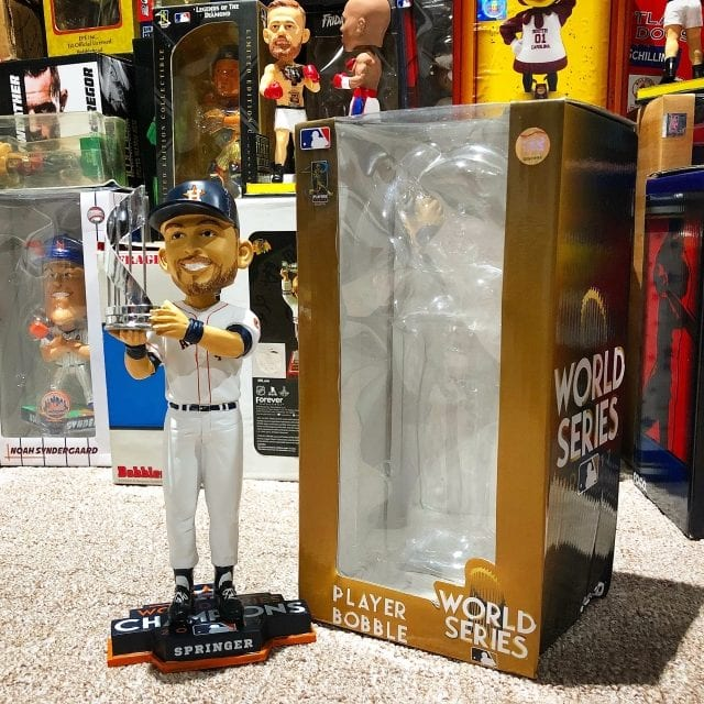 "Bobble of the Day ""George Springer"" MVP Bobblehead"
