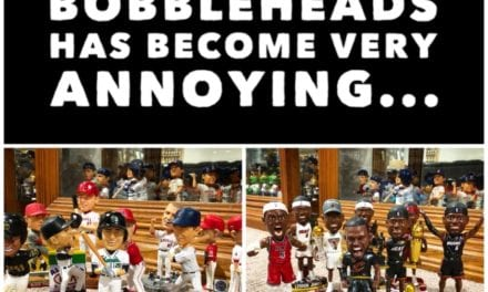 Over populated bobbleheads has become very annoying…
