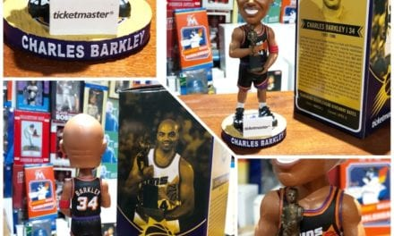 "Bobble of the Day ""Charles Barkley"" Phoenix Suns SGA Bobblehead"