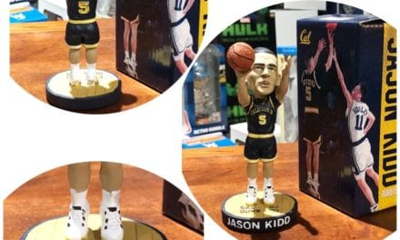 "Bobble of the Day ""Jason Kidd"" University Cal Berkeley SGA Bobblehead"