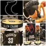 "Bobble of the Day ""Allen Crabbe"" Brooklyn Nets SGA Bobblehead"