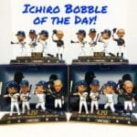 "Bobble of the Day ""Ichiro Suzuki"" Most Hits Bobblehead"
