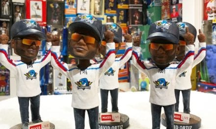 "Bobble of the Day ""David Ortiz"" Springfield Thunderbirds SGA Bobblehead"