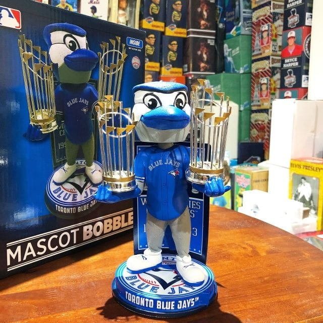 "Bobble of the Day ""Toronto Blue Jays World Series Champs Exclusive Bobblehead"