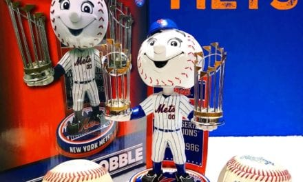 "Bobble of the Day ""New York Mets World Series Champs Exclusive Bobblehead"