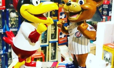 Have you ever witnessed a fight at a bobblehead game?