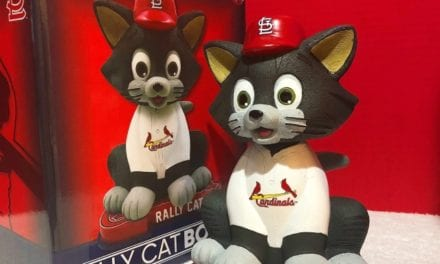 "Bobble of the Day St. Louis Cardinals ""Rally Cat"" Bobblehead"