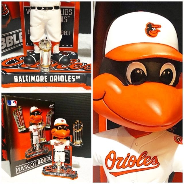 "Bobble of the Day ""The Bird"" Baltimore Orioles World Series Championship Bobblehead"