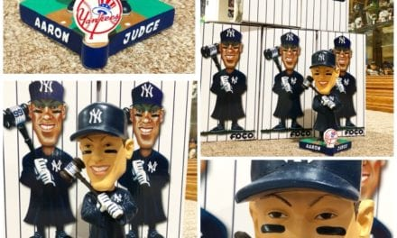 "Bobble of the Day ""Aaron Judge"" Caricature Bobblehead"