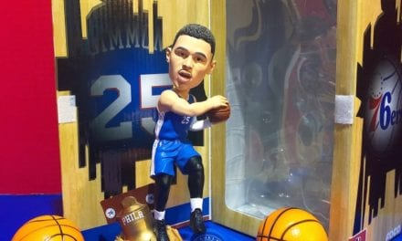 "Bobble of the Day ""Ben Simmons Philadelphia 76ers ""Exclusive Bobblehead"