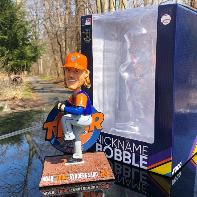"Bobble of the Day ""Noah Syndergaard"" Weekend Nickname Bobblehead"