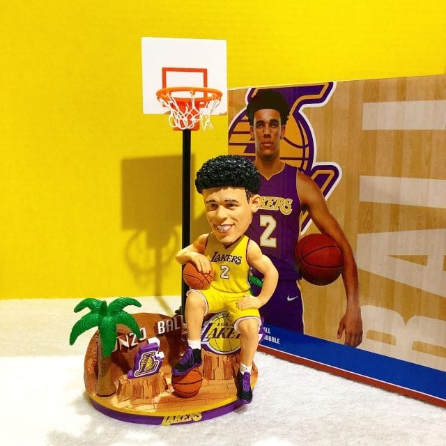 "Bobble of the Day ""Lonzo Ball"" Breakthrough Series Bobblehead"