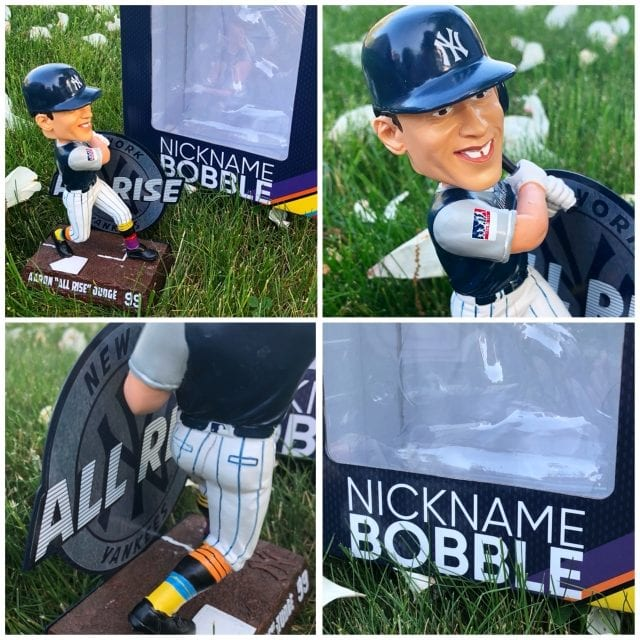 """Bobble of the Day Aaron Judge """"All Rise"""" Nickname Bobblehead"""
