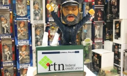 "Bobble of the Day ""Steve Horgan"" Boston Red Sox Police Officer SGA Bobblehead"