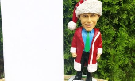 """Bobble of the Day """"Clark Griswold"""" Kane County Cougars SGA Bobblehead"""