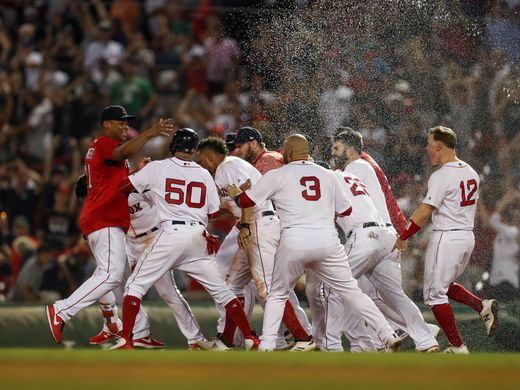 The Boston Red Sox season thus far…