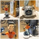 "Bobble of the Day ""Jose Altuve"" Houston Astros World Series Championship Ring Base Bobblehead"